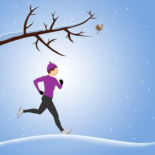 running-on-snow